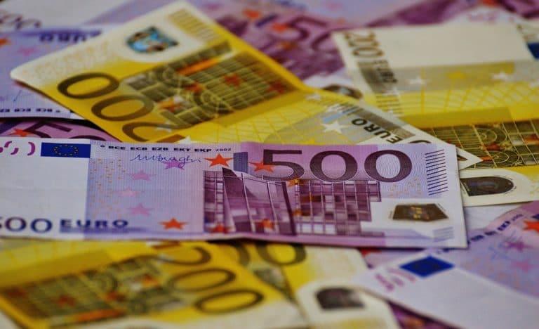 beleggen in valuta - euro biljetten