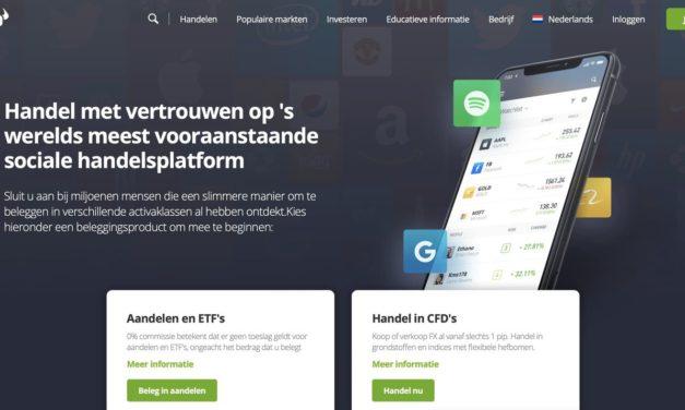 eToro Beleggingsrekening: Beleg in Aandelen, Crypto, Valuta en CFD's